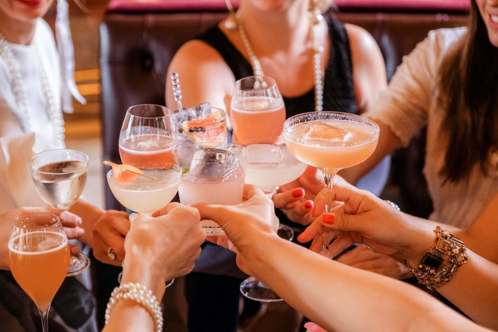 London wedding coordinator wedding drink idea signature cocktails