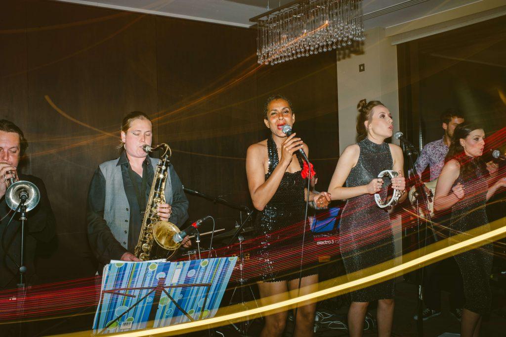 City wedding planner live wedding band Devonshire Terrace London